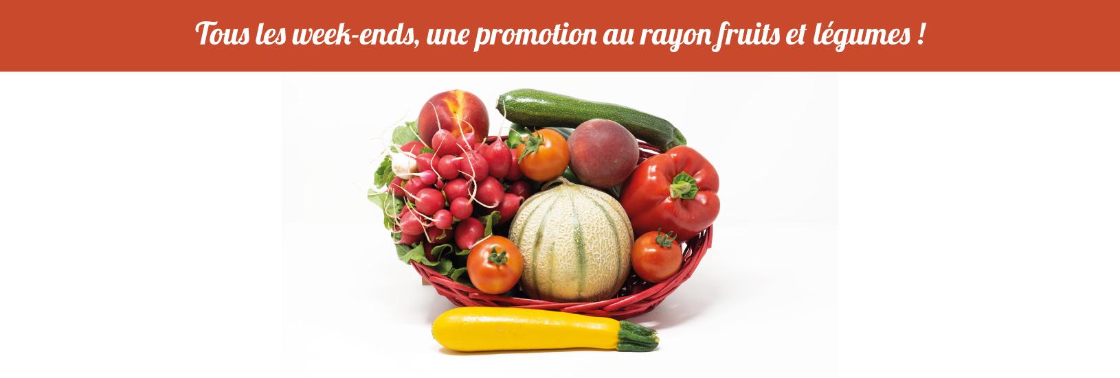promo fruits et légumes