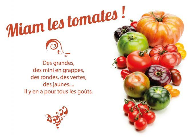 Miam, les tomates