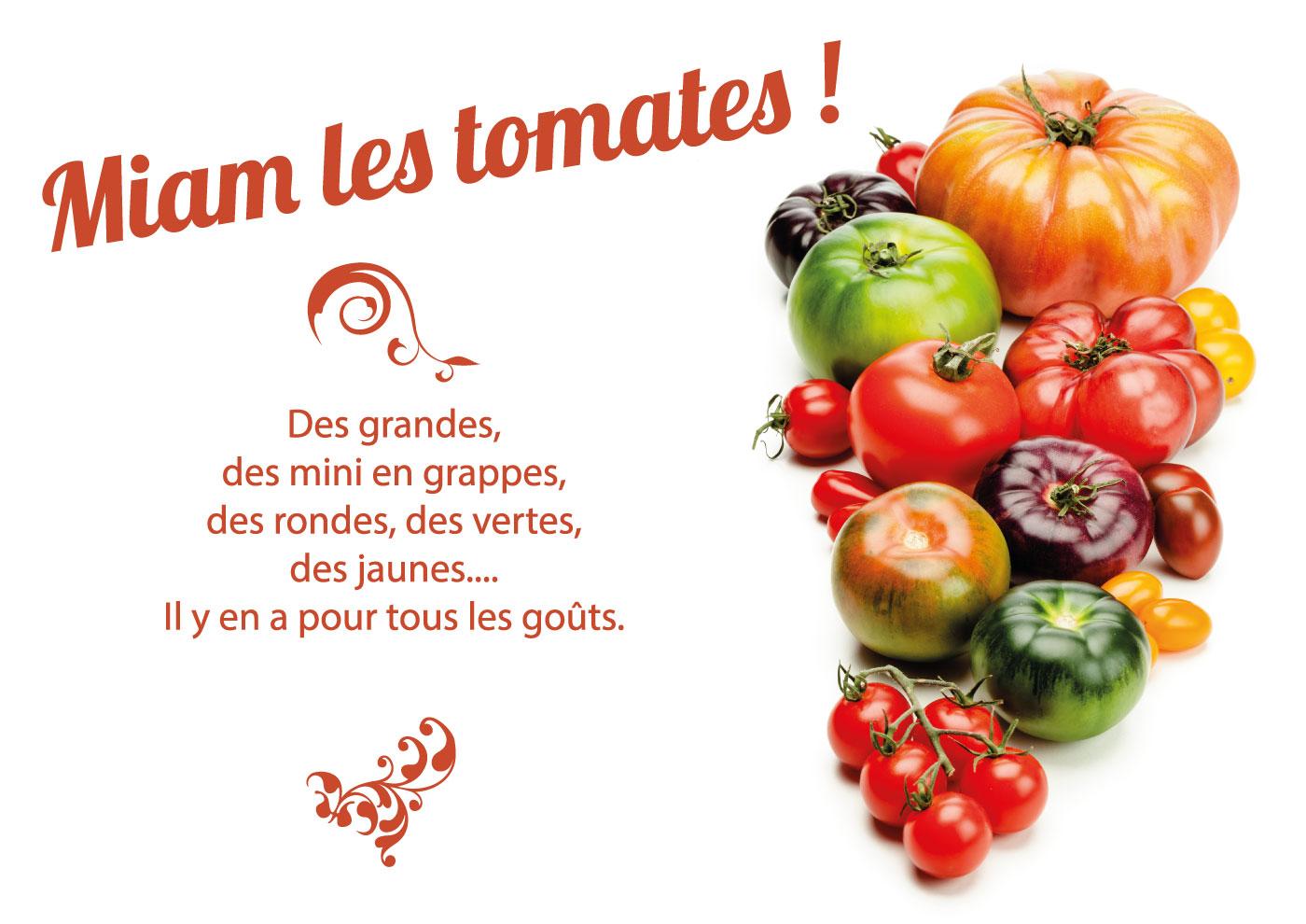 miam les tomates coeur de boeuf